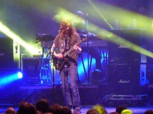 Mikael Åkerfeldt von Opeth in Köln. FOTO: Cem Akalin