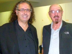 Cem Akalin und Ian Anderson FOTO: Zoe Akalin