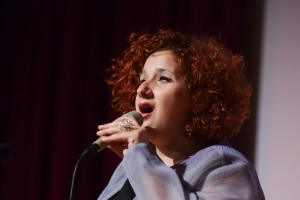 Efrat Alony am 12. Mai 2015 auf dem Jazzfest Bonn. FOTO: Jazzfest
