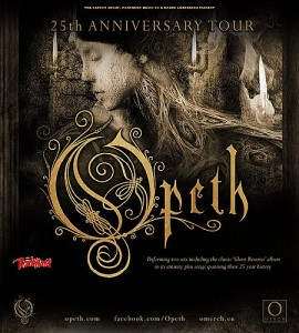 Opeth Tour