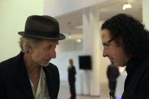 Im Gespräch mit Erik Truffaz: Cem Akalin. FOTO: Walter Schnabel