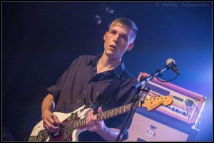 Max Rieger, Sänger und Gitarrist der Nerven. FOTO: Peter Szymanski