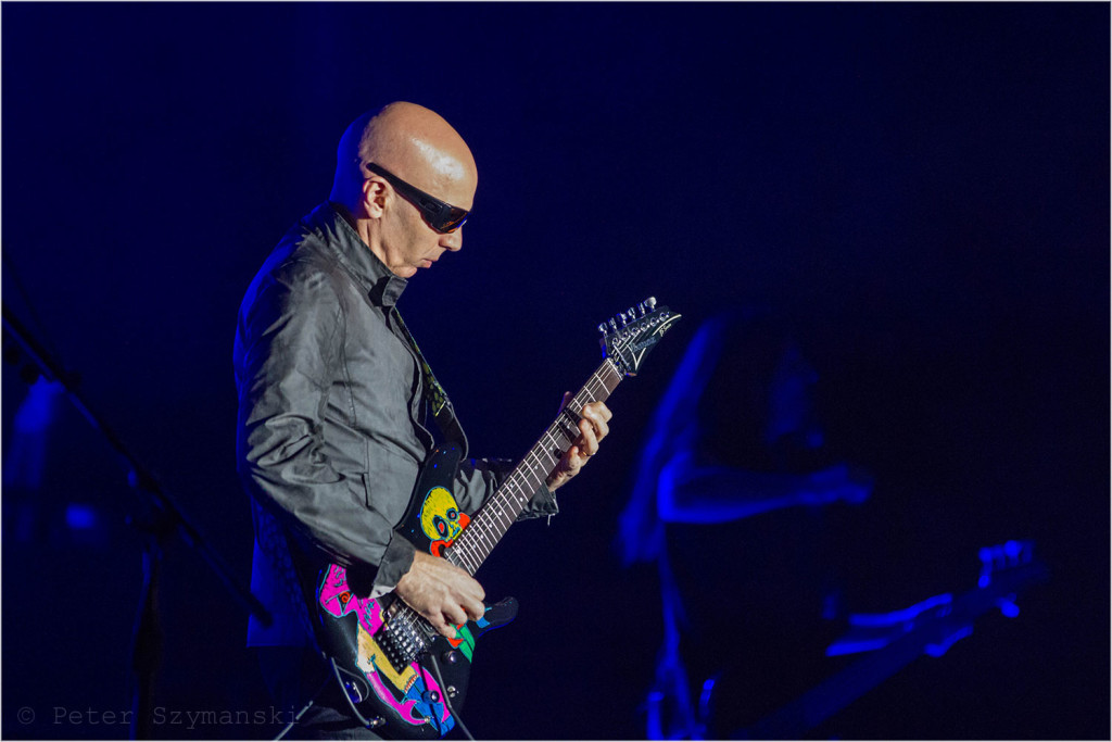 "Joe Satriani in Bochum. FOTO: Peter ""Beppo"" Szymanski"