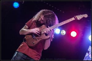 """Klingt sie noch? Gitarrist Guthrie Govan. FOTO: Peter """"Beppo"""" Szymanski"""