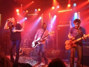 Dirty York aus Australien spielen auf dem Crossroads-Festival in der Endenicher Harmonie. Foto: Cem Akalin