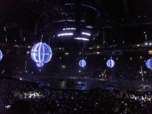 Muse, am 6. März 2016 in der Kölner Lanxess-Arena. FOTO: Cem Akalin