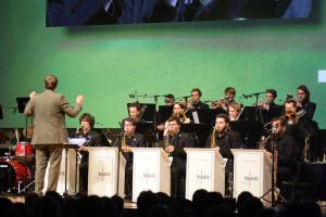 Das BuJazzO eröffnete das Jazzfest 2016 in Bonn. FOTO: Lutz Voigtländer/JFB