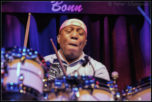 "Billy Cobham, live am 19.4.2016 in Bonn. FOTO: Peter ""Beppo"" Szymanski"