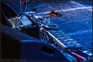 "Gitarrentechnik. FOTO: Peter ""Beppo"" Szymanski"