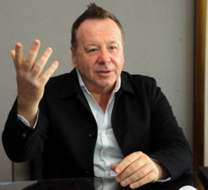 Interview mit Jim Kerr (Simple Minds) FOTO: Horst Müller