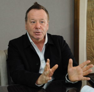 Interview mit Jim Kerr (Simple Minds)FOTO: Horst Müller