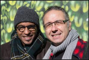 "Manu Katché und Cem Akalin, fotografiert in Köln: Peter ""Beppo"" Szymanski"
