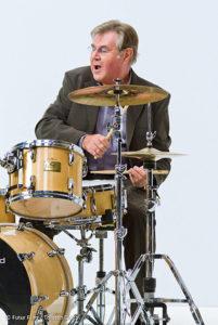 """Pete York war in den 80er Jahren Dauergast in der Bonner Jazz Galerie. Hits wie """"Keep on Running"""" kennt jeder. FOTO: PR"""