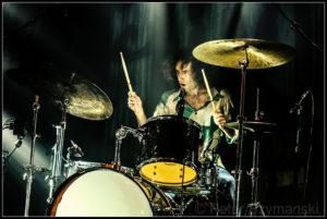 "Simo-Drummer Adam Abrashoff FOTO: Peter ""Beppo"" Szymanski"