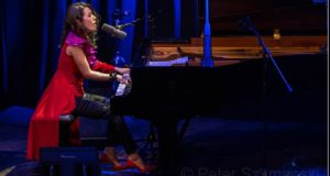 """Younee beim Beethovenfest 2016 in der Bonner Harmonie. FOTO: Peter """"Beppo"""" Szymanski"""