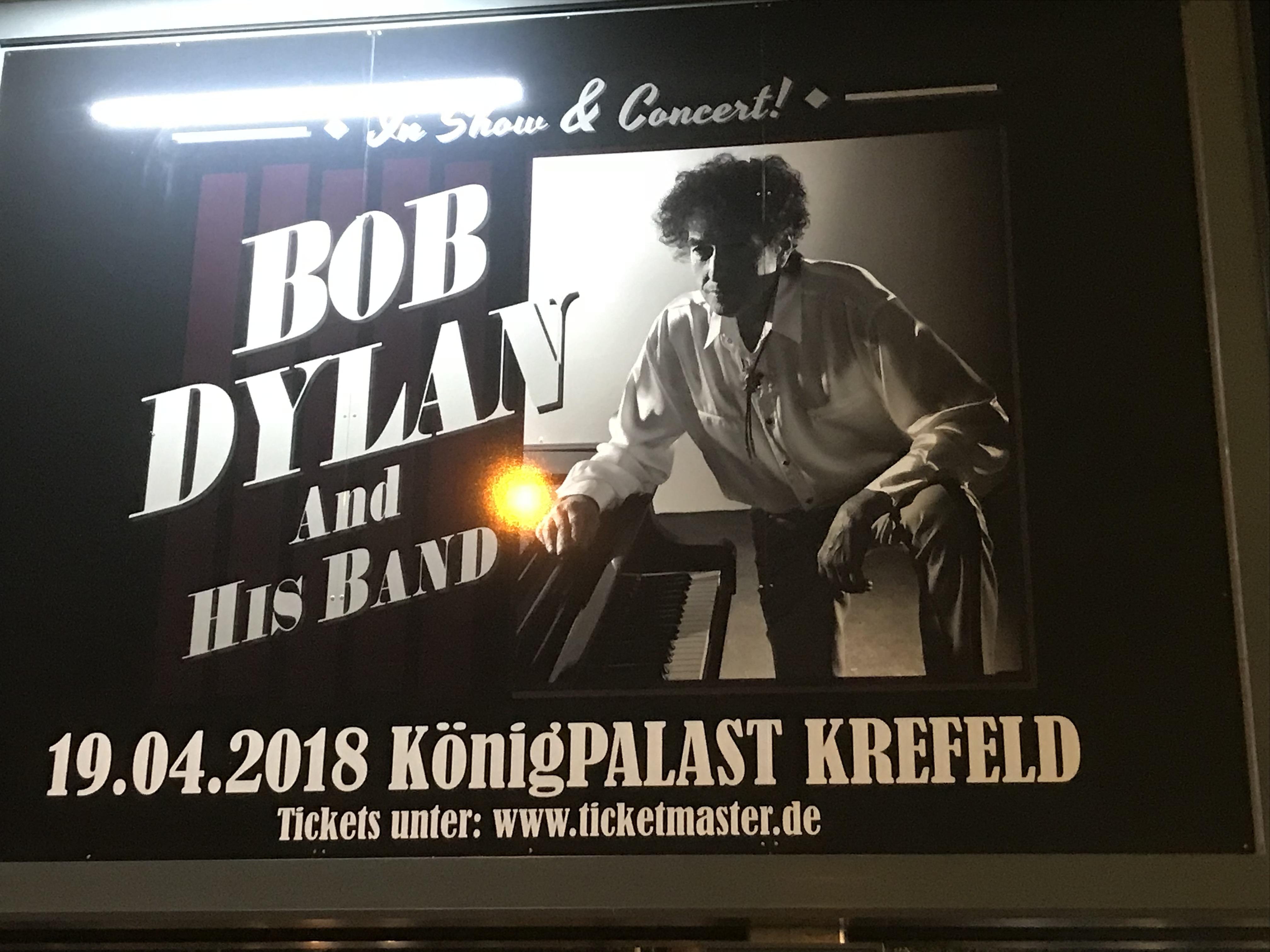 Bob Dylan in Krefeld: Ein fantastisches Konzert mit ...